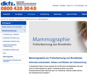mammographie-deutsches-krebsforschungszentrum
